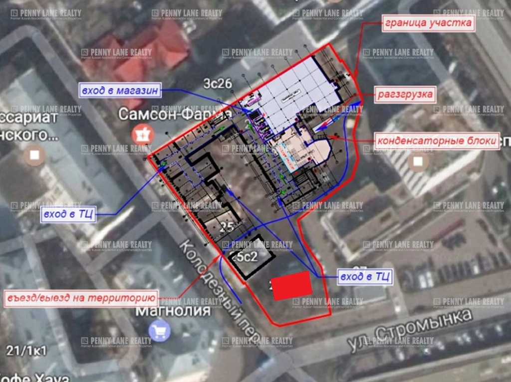 Закрытая продажа здания 108 кв.м