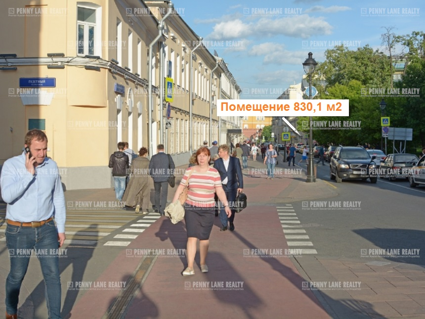 улица Большая Никитская - на retail.realtor.ru