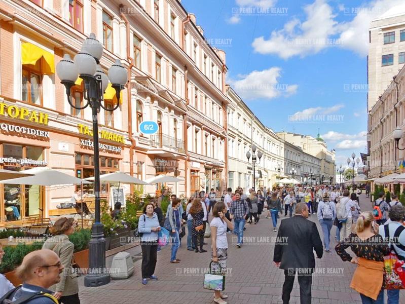 улица Арбат - на retail.realtor.ru