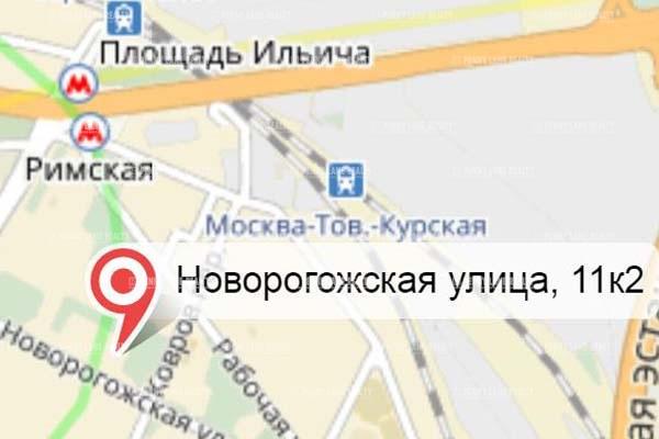 """продажа - """"ул. Новорогожская, 11к2"""" - на retail.realtor.ru"""