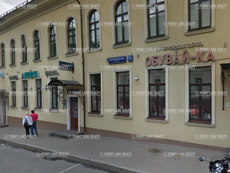"""продажа - """"пер. Благовещенский, 1Б"""" - на retail.realtor.ru"""