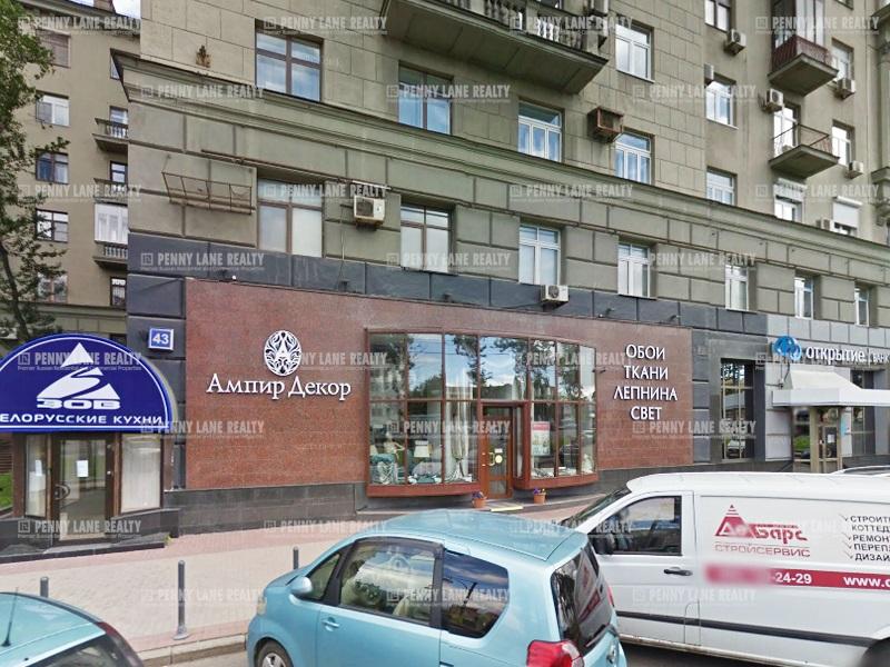 "продажа - ""пр-кт Кутузовский, 43"" - на retail.realtor.ru"
