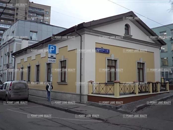 """продажа - """"пер. Хвостов 1-й, 13стр5"""" - на retail.realtor.ru"""