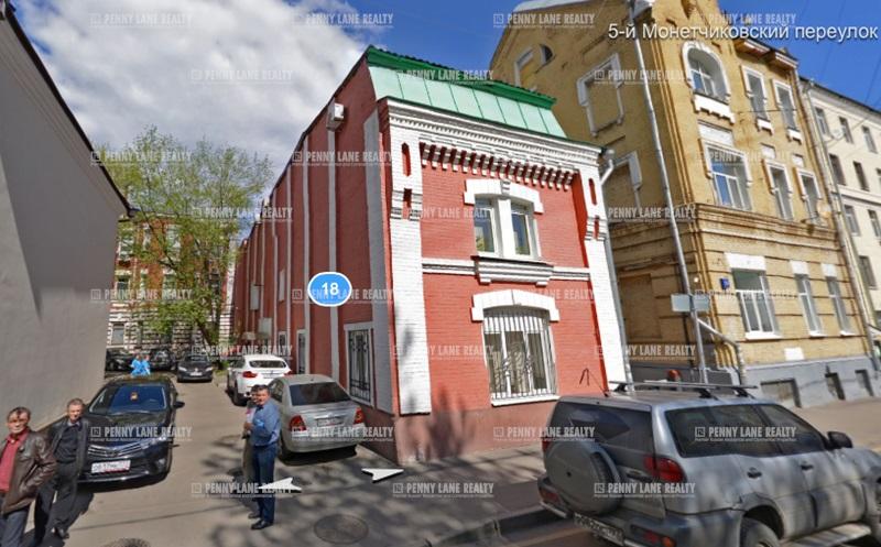 """продажа - """"ул. 5-й монетчиковский, 18"""" - на retail.realtor.ru"""