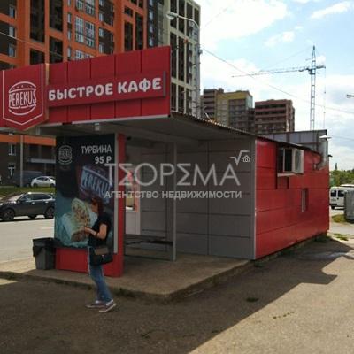 павильон на ул. Бакалинская, около дома 90/1, напротив ТЦ УЛЬТРА
